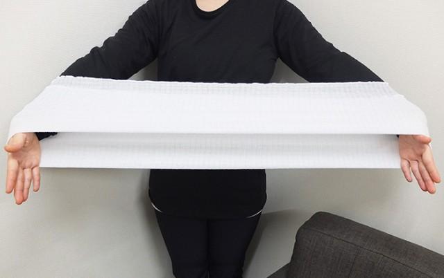 アンダー腹巻は胴周りフリーサイズ