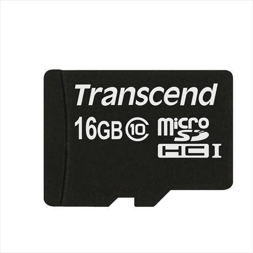 microSDカード 16GB class10 133倍速 Transcend microSDHCカード [TS16GUSDHC10]