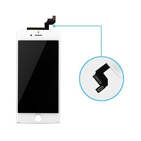 7185aa892d iPhone 6sフロントパネル 画面修理交換用 LCD液晶パネル フロント タッチ ガラス スクリ ー