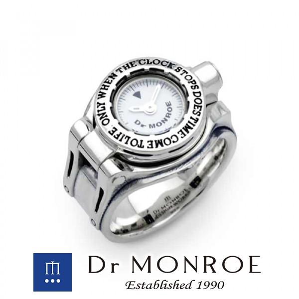 新しい到着 ドクターモンロー Dr MONROE ギミックウォッチリング 時計 リングウォッチ フィンガーウォッチ クロックリング, axiologie 08c06f59