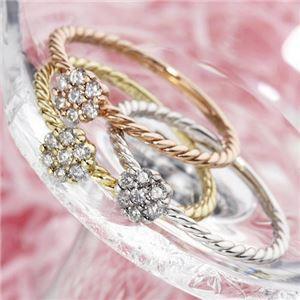 最新人気 送料無料 k18ダイヤリング 指輪 YG(イエローゴールド) 15号 ファッション:リング・指輪:天然石:ダイヤモンド, 見事な c927f0ef