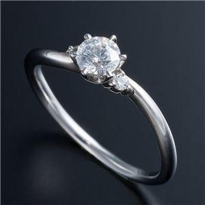 【オンライン限定商品】 送料無料 Dカラー 送料無料 17号・VVS2・EX Pt0.3ct Pt0.3ct ダイヤリング 両側ダイヤモンド(鑑定書付き) 17号 ファッション:リング・指輪:天然石:ダイヤモンド, ツリーワールド:c82d3b5b --- chevron9.de