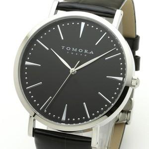 最高級のスーパー 送料無料 TOMORA TOKYO(トモラトウキョウ) 腕時計 日本製 T-1601-SBKBK ファッション:腕時計:メンズ(男性), DVD-outlet 4b1922c6