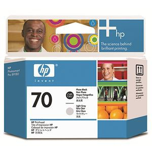 人気アイテム C9407A (まとめ) AV・デジモノ:パソコン・周辺機器:イ フォトブラック/ライトグレー 送料無料 【×3セット】 HP70 1個 プリントヘッド-プリンター・インク