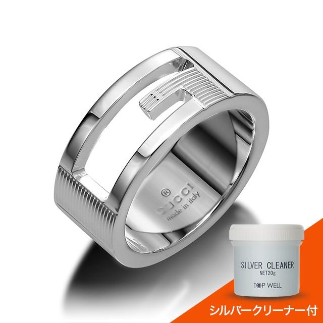 【超安い】 ノベルティ付き グッチ GUCCI リング 指輪 032660-09840 ブランデッドレギュラーGリング, Daito International c48164be