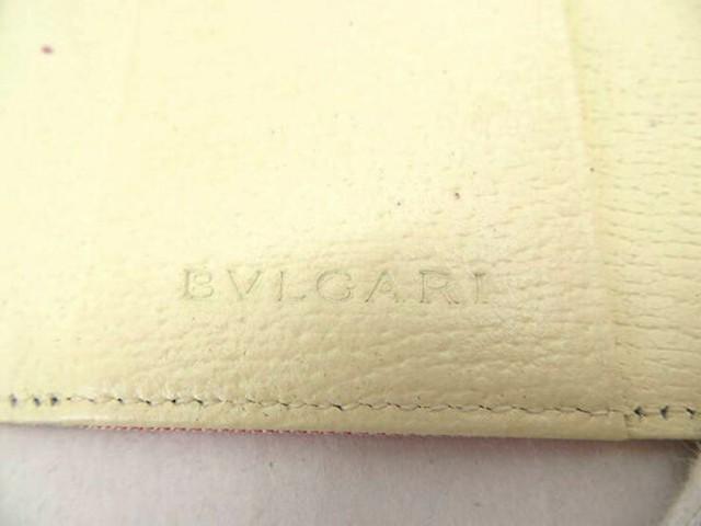 【新品未使用展示品】BVLGARI ブルガリ ロゴマニア 6連キーケース ピンク レザー キャンバス 小物 レディース【本物保証】