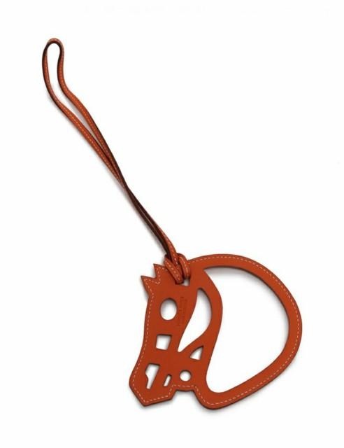 【新品未使用展示品】エルメス パドック シュバル バッグチャーム ホース 馬 スイフト レザー 小物【本物保証】
