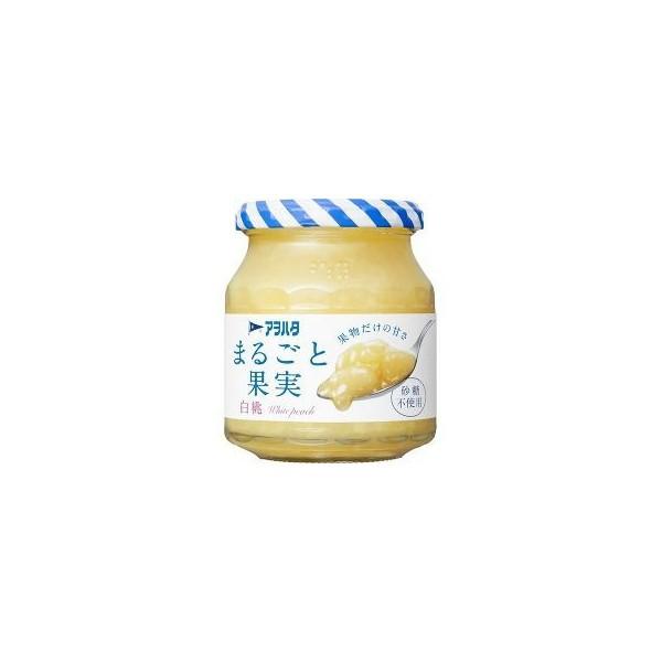 【送料無料】アヲハタ まるごと果実 白桃 250g×12個セット ( 4562452230023 )