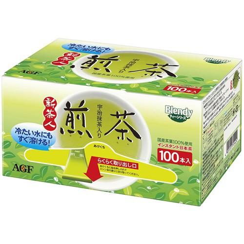 【送料無料】AGF ブレンディ スティック 新茶人 宇治抹茶入り煎茶 0.8g×100本×10個セット ( 4901111715424 )