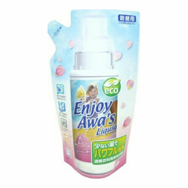 ロケット石鹸 エンジョイアワーズ 液体洗剤 チャーミングフローラルの香り 詰替 320g ( 4903367091888 )