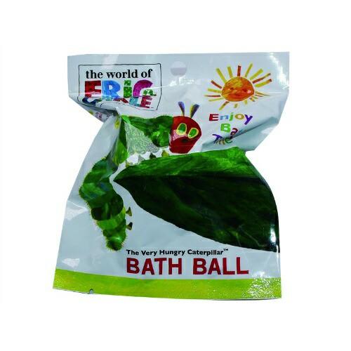 サンタン はらぺこあおむし バスボール 入浴剤 80g (お風呂 バスボール) (4525636200977)