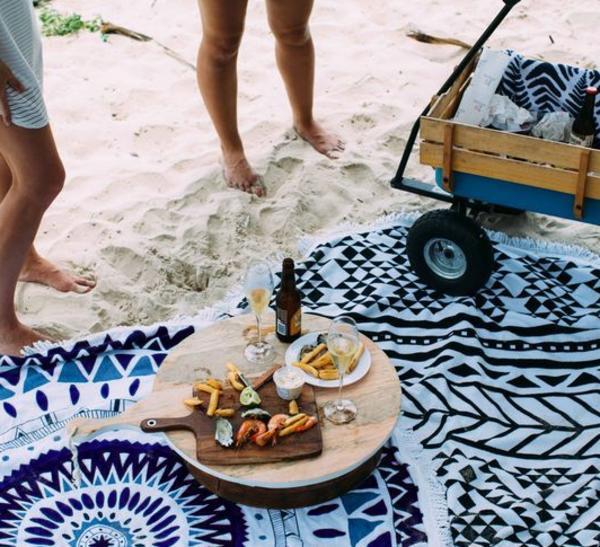 ラウンドビーチタオル 7柄【送料無料】ラウンドタオル  ビーチ 海 海外セレブ ビーチタオル プール プールパーティー ビーチ 海 海外セレブ 大人 大人用 ビーチマット 水着の上に着る 夏用 夏 ラグ ラグマット インテリアマット