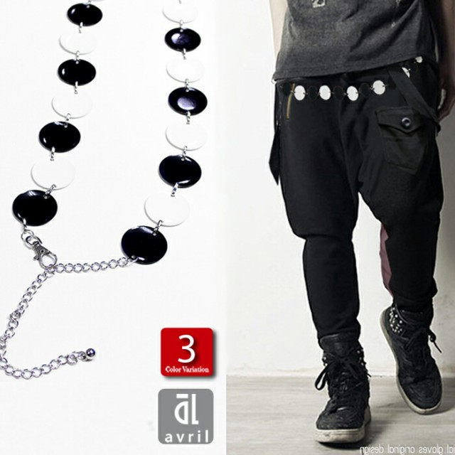 ベルト オセロ 3カラー メンズ 高品質 再入荷グレードAAA 数珠 チェーンベルト