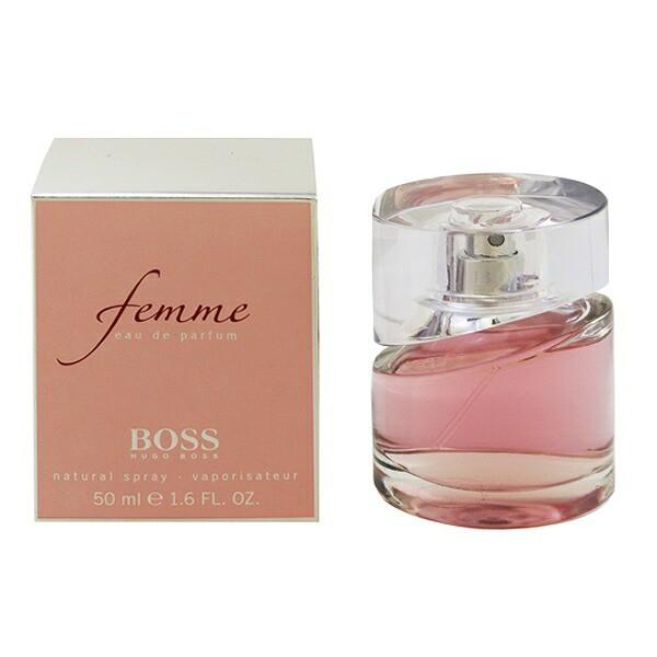 【ヒューゴボス】 ボス ファム オーデパルファム・スプレータイプ 50ml HUGO BOSS 香水 フレグランス BOSS FEMME