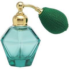カラフル クリスタルアトマイザー ドイツ製 クリスタル香水瓶 28076 (クリスタル グリーン) 25ml