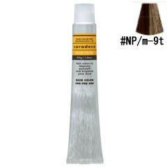 ナカノ NAKANO キャラデコ #NP/m-9t ナチュラルプラチナM (ティンタータイプ) 80g ヘアケア