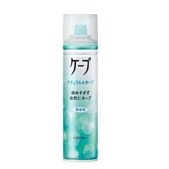 【花王】 ケープ ナチュラル&キープ 無香料 180g KAO ヘアケア