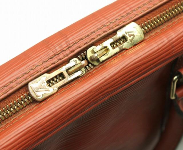 【バッグ】 ルイ ヴィトン エピ ポルトドキュマン ヴォワヤージュ 書類カバン ビジネスバッグ ブリーフケース ケニアブラウン 茶 M59098