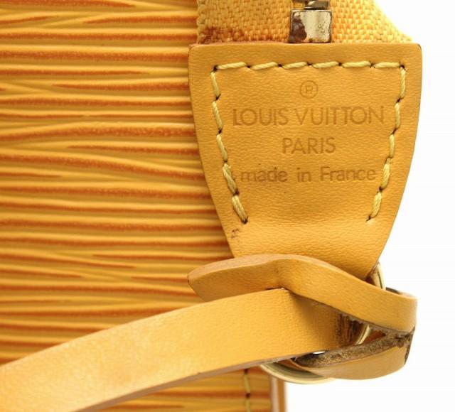 【バッグ】 ルイ ヴィトン エピ ポシェット アクセソワール アクセサリーポーチ ハンドバッグ レザー タッシリイエロー 黄色 M52959