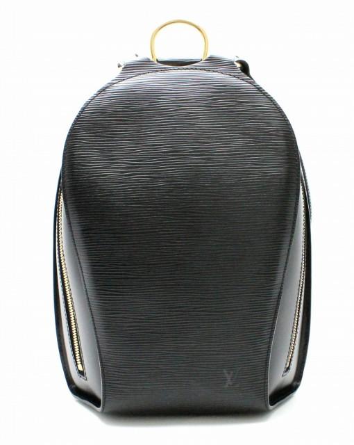 【バッグ】 ルイ ヴィトン エピ マビヨン リュック リュックサック バックパック ショルダーバッグ レザー ノワール 黒 ブラック M52232