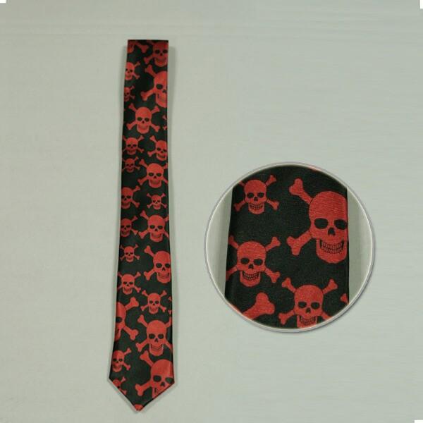 コスプレ ネクタイ ドクロ スカル ハロウィン 衣装 tie123