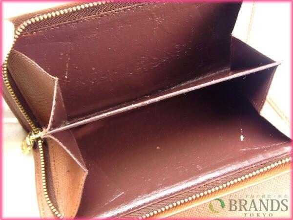 ルイヴィトン Louis Vuitton L字ファスナー財布 二つ折り メンズ可 /ポルトモネビエトレゾール モノグラム【中古】 Y141