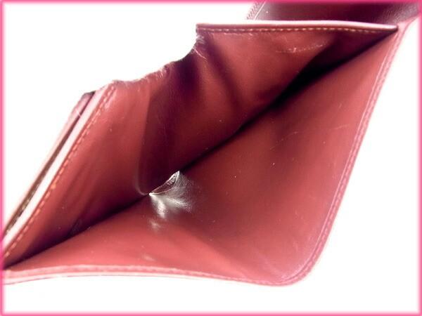 カルティエ Cartier がま口財布 マストライン【中古】 Y370