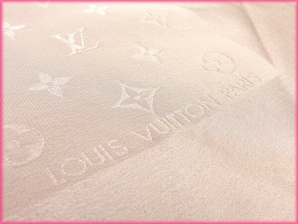 ルイヴィトン Louis Vuitton スカーフ モノグラム [中古] 人気 激安 M1136