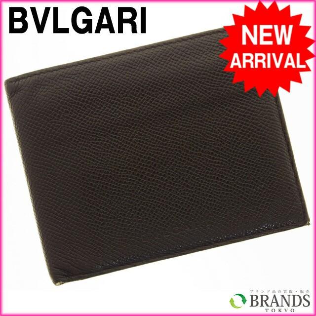ブルガリ BVLGARI 二つ折り財布 [中古] (激安・即納) R20
