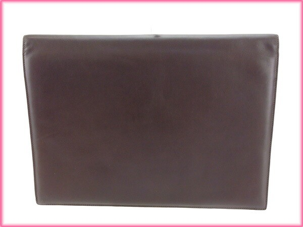 ロエベ LOEWE ドキュメントケース 書類ケース メンズ可 美品 セール【中古】 Y2910