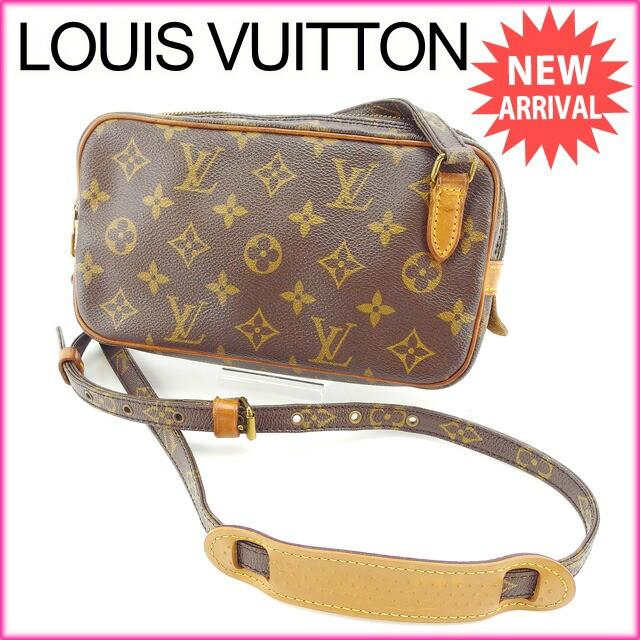 ルイヴィトン Louis Vuitton ショルダーバッグ 斜めがけショルダー メンズ可 ポシェットマルリーバンドリエール モノグラム激安 セール【