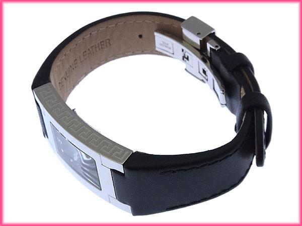 ヴェルサーチ VERSACE 腕時計 クォーツ レディース スクエアフェイス メドゥーサマーク新品 未使用【新品 未使用】 Y3096