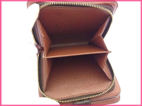 激安 セール ルイヴィトン 二つ折り財布 モノグラム メンズ可【中古】 P140