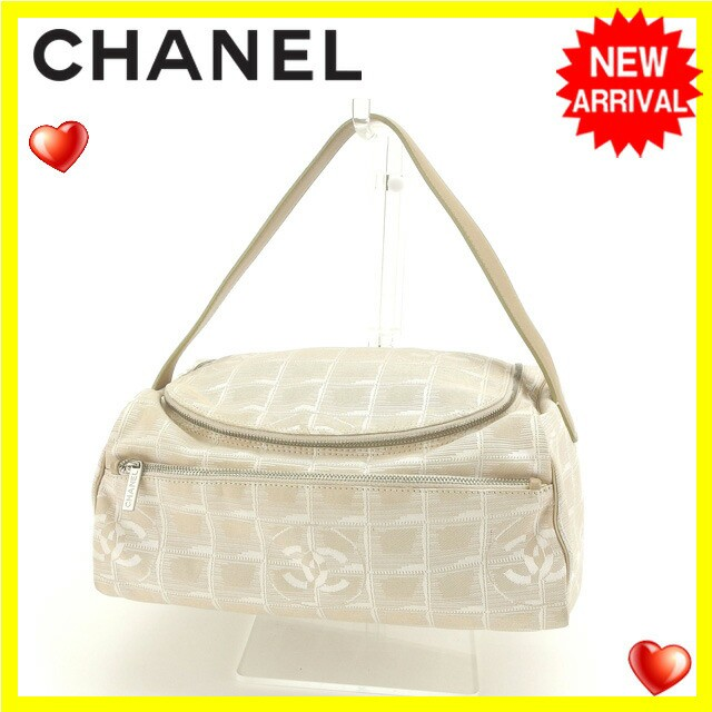 シャネル CHANEL バニティ ハンドバッグ レディース ニュートラベルライン良品 セール【中古】 Y3822