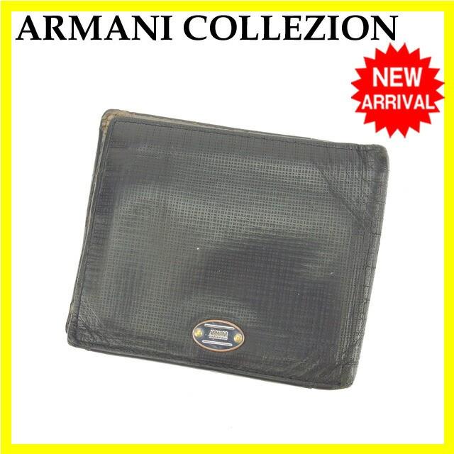 アルマーニ ARMANI 二つ折り財布 メンズ [中古] 人気 セール L894