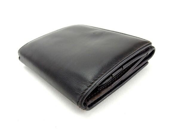 グッチ GUCCI Wホック財布 ミニサイズ メンズ ロゴ [中古] 良品 セール P391