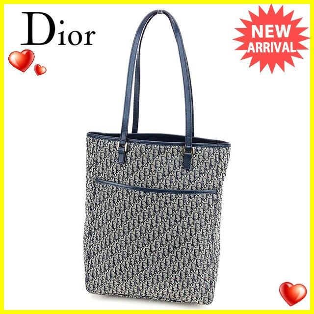 ディオール Dior トートバッグ ショルダーバッグ バッグ メンズ可 トロッターヴィンテージ 良品【中古】 T2711