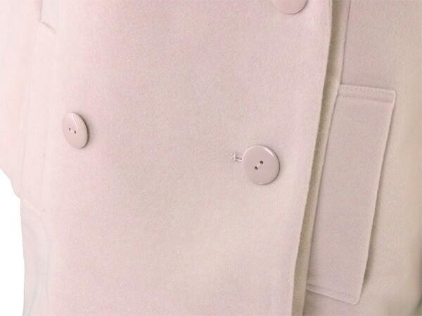 スナイデル snidel コート 衿フェイクファー付き レディース ダブル Pコート 新品 未使用品【新品】 P600
