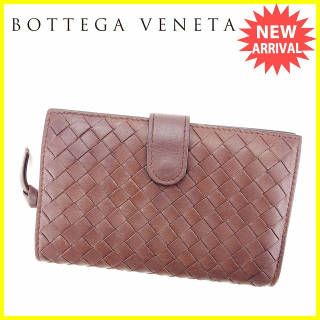 e2de0d2b305e ボッテガ ヴェネタ BOTTEGA VENETA 二つ折り 財布 二つ折り 財布 レディース メンズ 可 イントレチャート美