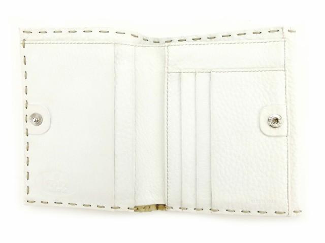 フェンディ FENDI Wホック 財布 二つ折り レディース メンズ 可 セレリア 人気 セール【中古】 S480