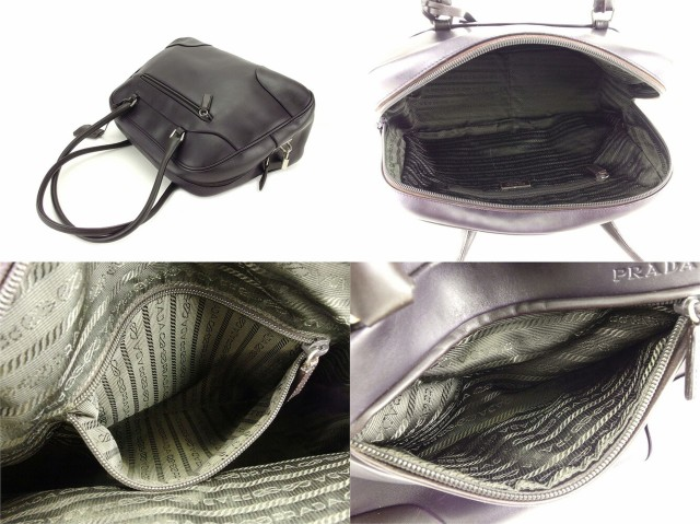 プラダ PRADA ボストンバッグ ミニボストンバッグ レディース メンズ 可 美品 セール【中古】 T4901
