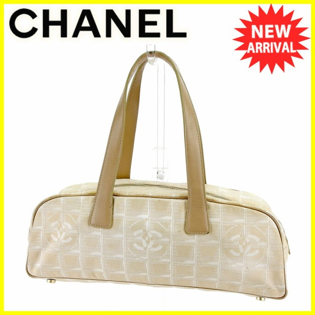 ac7b23314ac3 シャネル Chanel バッグ ハンドバッグ ニュートラベルライン レディース メンズ 中古 T5552