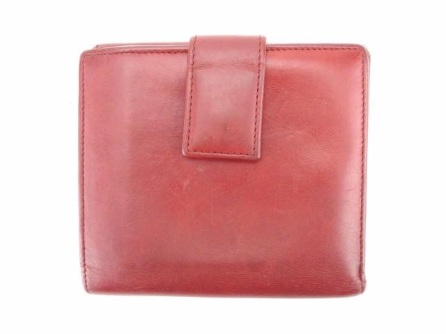 グッチ Gucci Wホック財布 二つ折り 財布 レディース メンズ 可 インターロッキング 中古 人気 セール T5933