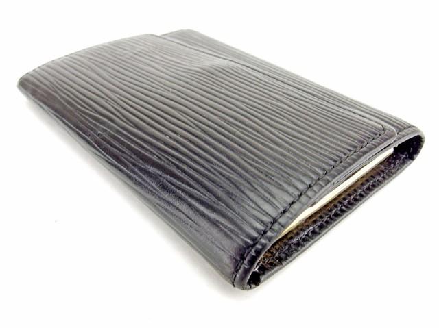 ルイ ヴィトン LOUIS VUITTON キーケース 6連キーケース メンズ可 ミュルティクレ6 M63812 エピ [中古] 人気 セール T6470