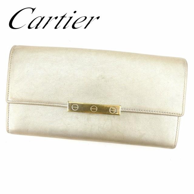 47695cf23772 カルティエ Cartier 財布 長財布 ラブコレクション レディース メンズ 中古 T6596