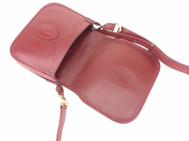 カルティエ Cartier ショルダーバッグ ワンショルダー ミニポーチ メンズ可 マストライン美品 セール【中古】 T6667