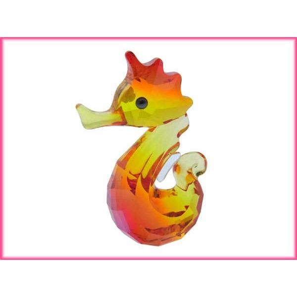 スワロフスキー SWAROVSKI フィギュア クリスタル コレクション置物 シーライフ・ジーナラブロッツ 1121757 タツノオトシゴ [新品] (未使