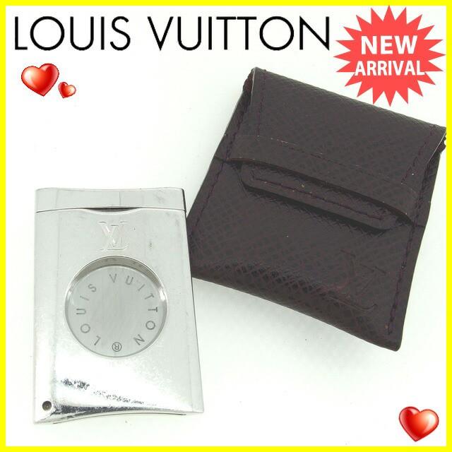 ルイヴィトン Louis Vuitton シガーカッター タイガケース付き メンズ 葉巻用 廃盤 奇跡的入荷!【中古】 Y4822