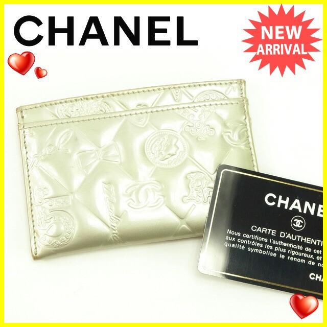 【中古】 (Chanel) シャネル カメリア レザー コサージュ カーキ