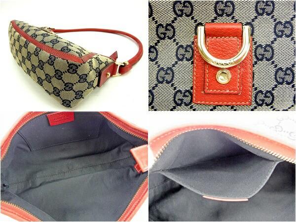 グッチ Gucci ショルダーバッグ ワンショルダー レディース GGキャンバス良品 セール【中古】 Y5208